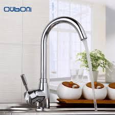 online get cheap polished brass kitchen faucets aliexpress com