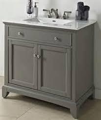 home bathroom 36 vessel sink vanity gray gray
