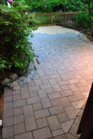 Pavers Patio How To Lay A Paver Patio Gravel Sand And Stones House