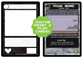 image custom cards png the dungeon building card