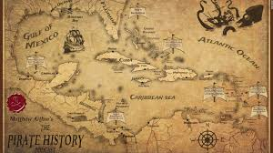 Caribbean Ocean Map by The Real Pirates Of The Caribbean Cnn Travel
