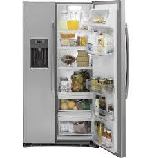 Samsung Counter Depth Refrigerator Side By Side by Ge Stainless Side By Side Refrigerator Gzs22dsjss