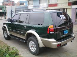 mitsubishi montero sport 2001 2003 mitsubishi montero sport information and photos momentcar
