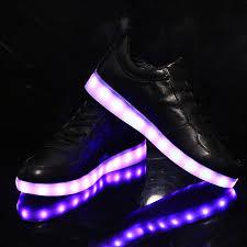 rainbow light up shoes rainbow light led lights shoes luminous shoes shining shoes usb