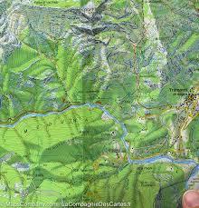 Map Italy by Hiking Map 28 Val Tramontina Cosa U0026 Arzino Italy Tabacco