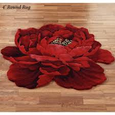 floors u0026 rugs ted floral round area rugs for minimalist flooring