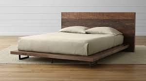 simple reclaimed wood platform bed u2014 rs floral design reclaimed