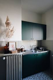 ikea grey green kitchen cabinets a green ikea kitchen makeover the gem picker