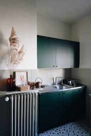 ikea grey green kitchen cabinets a green ikea kitchen makeover the gem picker