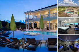 Bed Vacation Homes In Orlando Pool Home Rentals And More - 7 bedroom vacation homes in orlando