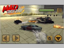 mad car crash derby extreme racing on the app store