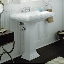 bathroom kohler memoirs pedestal for create a clean look for