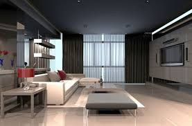 grey walls and white sofa giving great combination for striking