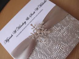 Snowflake Wedding Invitations Luxury Silver U0026 White Winter Wedding Invitation Snowflake With