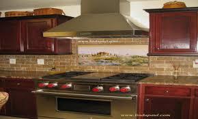 murals for kitchen backsplash kitchen tile murals kitchen backsplash ideas with oak tile ideas
