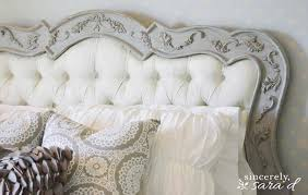 White Painted Headboard by 11 Diy Chalk Paint Recipes And Ideas Tip Junkie