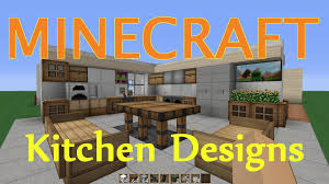 Kitchen Dining Rooms Designs Ideas Minecraft Kitchen Dining Room Design Ideas Youtube