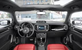 volkswagen inside 2012 volkswagen beetle drive review car and driver