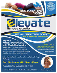 foam roll workshop this thursday at elevate fitness studio