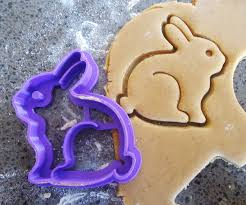 3d printed bunny cookie cutter felt