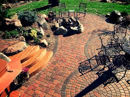 exterior cozy backyard decoration design ideas with paver patio
