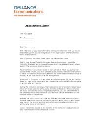 Service Termination Notice Sample by Joining Letter Format For Offer Letter Format Legal