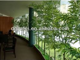 looking artificial outdoor bamboo tree bamboo plants