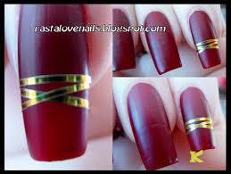 golden rolls striping tape line nail art decoration sticker kkcenterhk