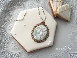 cameo cookies where to buy 65 best edible jewelry images on decorated cookies