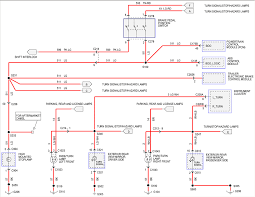 ford van turn signal wire diagram ford wiring diagram instructions