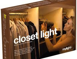 mylight me led ambient closet light kit gadget flow