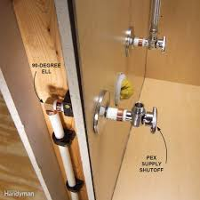 Plumbing In Basement Plumbing With Pex Tubing Family Handyman