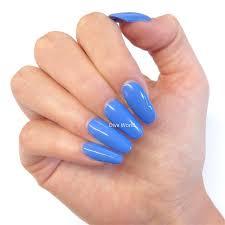 cornflower blue bluesky special edition cornflower blue uv led soak gel nail