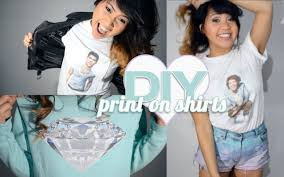 Make Your Own Name Brand Clothes Diy How To Print Your Own T Shirts U0026 Sweatshirts At Home Youtube