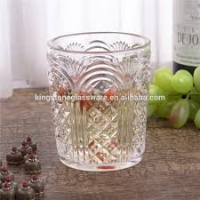 new pineapple heavy thick octagonal drinking water glass hhp172