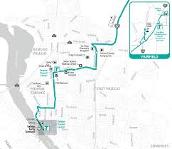 Marta Train Map Soltrans Route 85 U2013 Fairfield Express