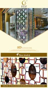 Stainless Steel Partition Stainless Steel Glass Kitchen Living Room Partition Design Buy