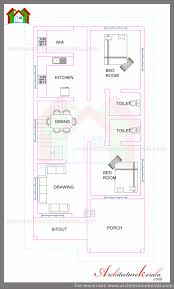 1700 square feet plan and elevation architecture kerala
