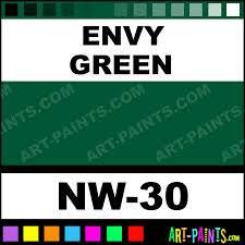 types of green color envy green pigments tattoo ink paints nw 30 envy green paint