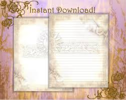 letter writing paper printable victorian stationery vintage letter writing spring zoom