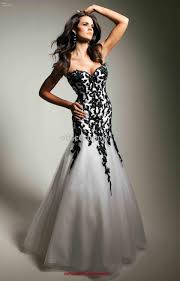 be gorgeous in the black and white prom dresses fashioncold