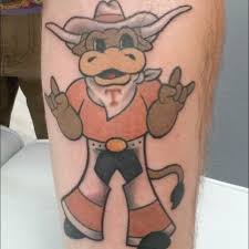15 awesome texas longhorn tattoos show your stripes