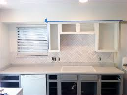 Kitchen Room  Tumbled Stone Backsplash Blue Kitchen Backsplash - Carrara backsplash