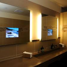 Flat Bathroom Mirror by Flat Screen Tv Mirror One Way Bathroom Film To Tv In Bathroom