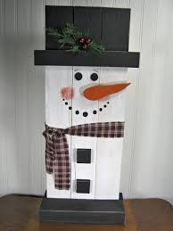 wooden snowman stand up wooden snowman christmas decoration wooden snowmen