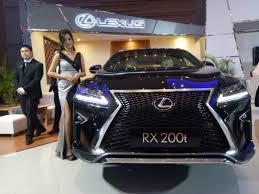 harga lexus rx 200t 2016 indonesia perdana di makassar lexus rx 200t incar pengunjung muda di giias