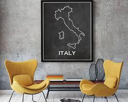 Italian Home Decorations Italy Wall Art Etsy
