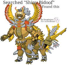 Bidoof Meme - searched shiny bidoof found this meme by drag0njess memedroid