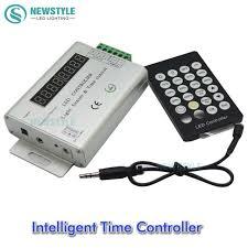 programmable led light strips 24 keys 3 channel 12v 24v intelligent light sensor and time