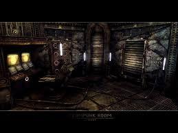 accessories terrific steampunk interior design style and